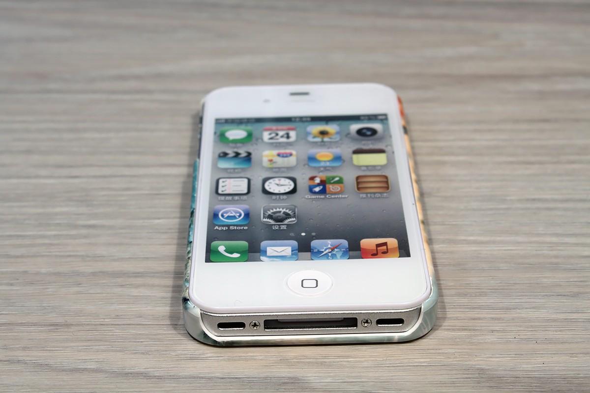 coque rigide iphone 44s personnalisee avec cotes imprimes