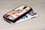Coque Galaxy S4 personnalisée avec côtés rigides unis