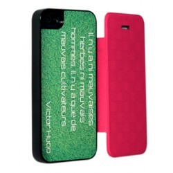 Etui iPhone 5/5s personnalisé à clapet