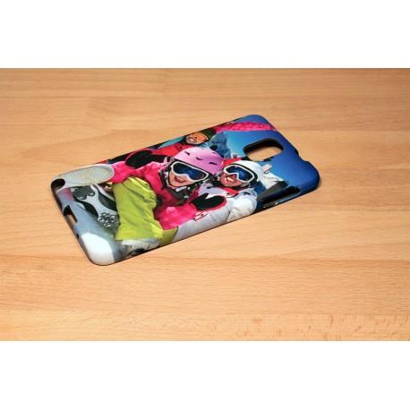 Coque silicone Galaxy Note 3 personnalisée avec côtés imprimés