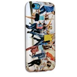 Coque silicone iPhone 5C personnalisée avec côtés imprimés