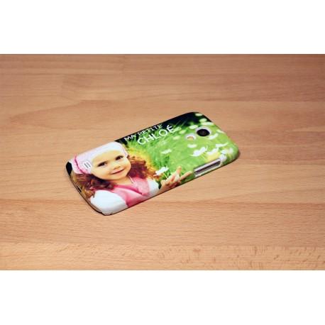 Coque rigide Galaxy S4 mini personnalisée avec côtés imprimés