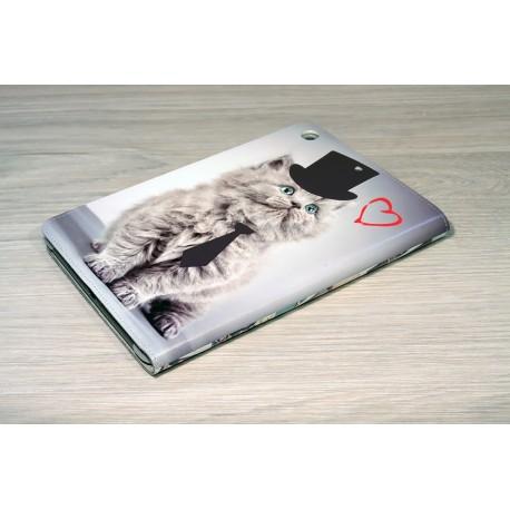 Etui iPad mini personnalisée à clapet en cuir