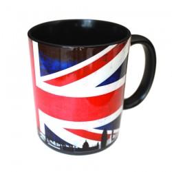 Mug noir photo personnalisé, la personnalisation de mug lakokine