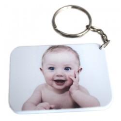 Porte clé photo personnalisé rectangle