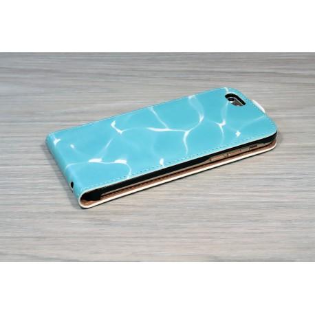 Etui iPhone 6 personnalisé à clapet en cuir