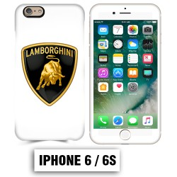 Coque iphone 6 6S logo Lamborghini