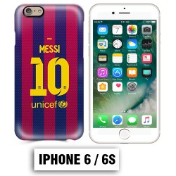 Coque iphone 6 6S Foot FCB Barcelonne Messi