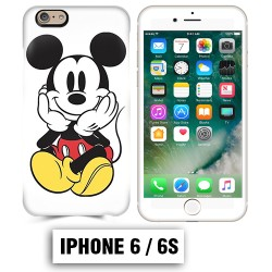 Coque iphone 6 6S Mickey Mouse couleur