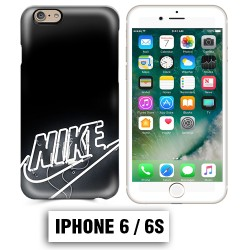 Coque iphone 6 6S logo Nike neon