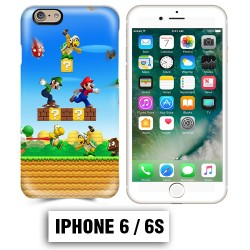 Coque iphone 6 6S Mario Bross jeu