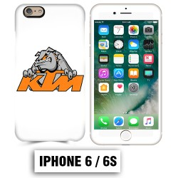 Coque iphone 6 6S moto cross KTM Bulldog