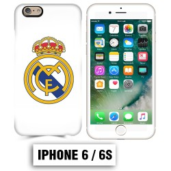 Coque iphone 6 6S foot REAL MADRID
