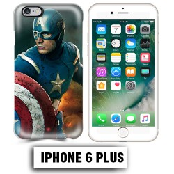 Coque iphone 6 PLUS Captain Super America Comics