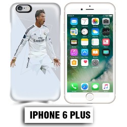 Coque iphone 6 PLUS Foot Ronaldo Madrid