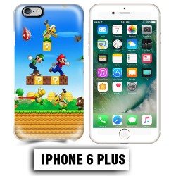 Coque iphone 6 PLUS Mario Bross jeu