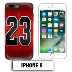 Coque iphone 8 air Jordan basket 23