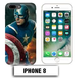 Coque iphone 8 Captain Super America Comics
