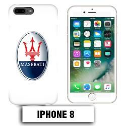 Coque iphone 8 logo Maserati