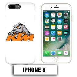 Coque iphone 8 moto cross KTM Bulldog