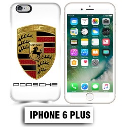 Coque iphone 6 PLUS logo Porsche