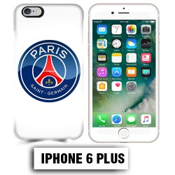 Coque iphone 6 PLUS Foot PSG logo club