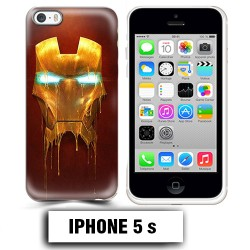 Coque iphone 5 5S Iron Man super héro