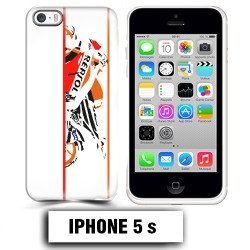 Coque iphone 5 5S moto course Repsol
