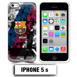 Coque iphone 5 5S Foot FCB Barcelonne Messi