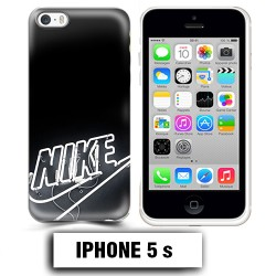 Coque iphone 5 5S logo Nike neon