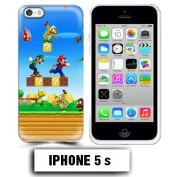 Coque iphone 5 5S Mario Bross jeu