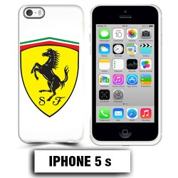 Coque iphone 5 5S logo Ferrari Scuderia