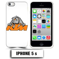 Coque iphone 5 5S moto cross KTM Bulldog