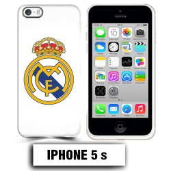 Coque iphone 5 5S foot REAL MADRID