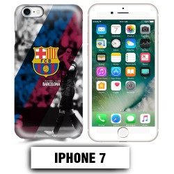 Coque iphone 7 Foot FCB Barcelonne Messi