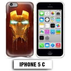 Coque iphone 5C Iron Man super héro