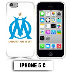 Coque iphone 5C équipe de Marseille OM foot