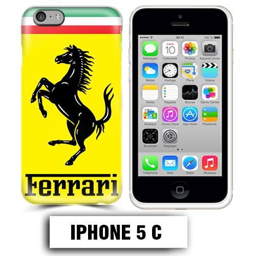 coque iphone 5c logo ferrari scuderia