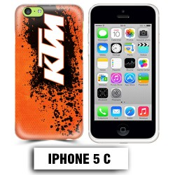 Coque iphone 5C moto cross KTM sport