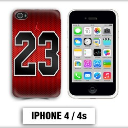 Coque iphone 4 air Jordan basket 23