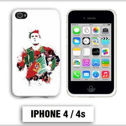 Coque iphone 4 Foot Ronaldo Madrid CR7