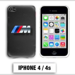 Coque iphone 4 BMW M Power carbone