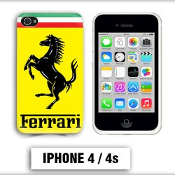 Coque iphone 4 logo Ferrari Scuderia