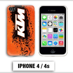 Coque iphone 4 moto cross KTM sport