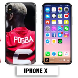 Coque iphone X Foot Pogba