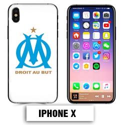 Coque iphone X équipe de Marseille OM foot
