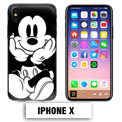 Coque iphone X Mickey Mouse vintage