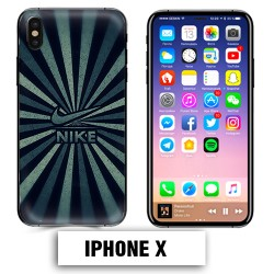 Coque iphone X Nike vintage