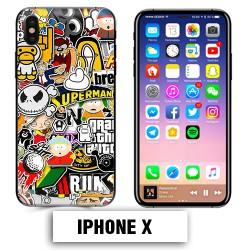 Coque iphone X South Park Superman Comics
