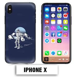Coque iphone X Star Wars snowboard